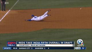 American Heritage grad Jonathan India drafted by Reds - Video