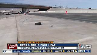 How does heat affect tires - Video