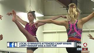 Local gymnasts one injury away from being Nassar victim - Video