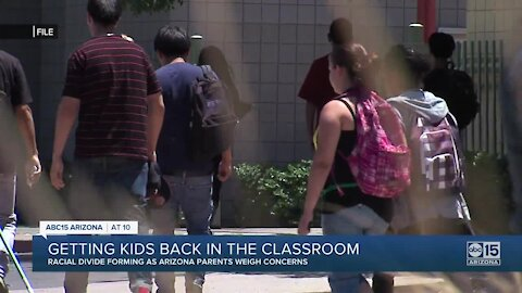 Getting kids back in the classroom