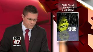 Central Michigan University recovers from June flooding - Video