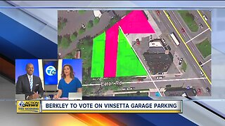 Berkley to vote on Vinsetta Garage parking