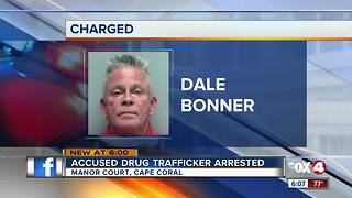 Accused Drug Trafficker Arrested - Video