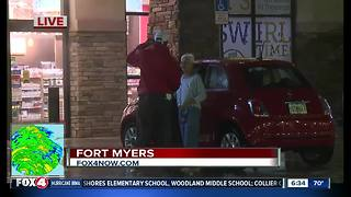 Fort Myers Irma live report -- 6:30am Sunday - Video