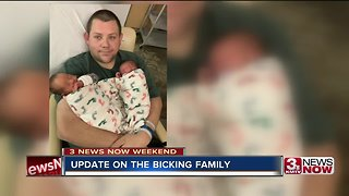 Local man living with heart condition has newborn twins