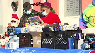 Fayette Street Outreach Organization holds toy drive