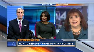 How to resolve a problem with a business - Video