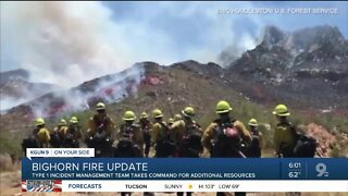 New team brought in to help fight Bighorn Fire