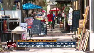 St. Pete's Central Ave could soon ban chains - Video