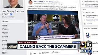 The Let Joe Know team is calling back the scammers that call you - Video