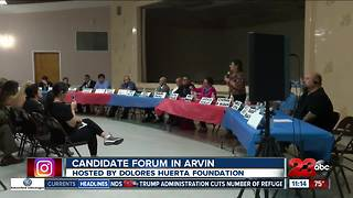 Candidate forum hosted by Dolores Huerta Foundation in Arvin