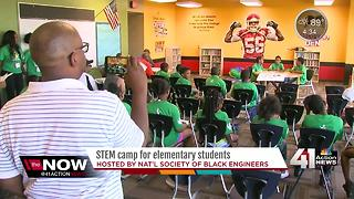 National Society of Black Engineers host summer camp to promote careers in STEM - Video