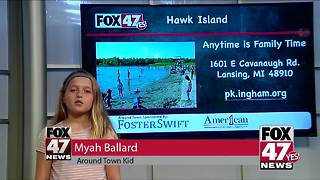 Around Town Kids 6/29/18: Hawk Island - Video