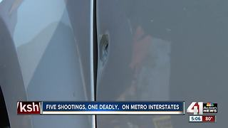 KCPD investigating series of shootings on major KC roadways - Video