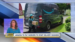 Amazon to pay workers to start delivery business