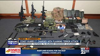 Coast Guard Lieutenant arrested, accused of planning terror attack