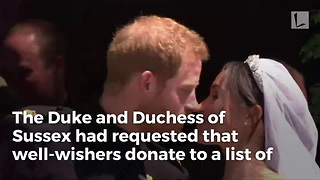 Duke And Duchess Of Sussex Are Returning $9 Million Worth Of Wedding Gifts