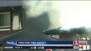 Omaha fire shares safety tips for families - Video