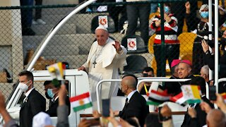 Pope Francis Ends Iraq Tour, Urging Christians To Forgive And Rebuild