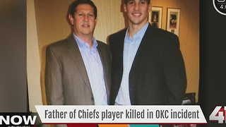 Chiefs respond to player's father killed in airport shooting - Video