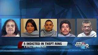 Five indicted in credit card fraud ring - Video