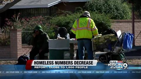 Statistics on homelessness in Tucson released