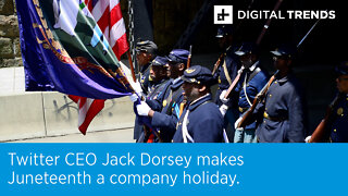 Twitter CEO Jack Dorsey makes Juneteenth a company holiday