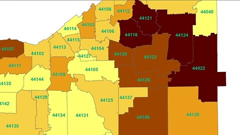 Cuyahoga Couny's health department says Covid-19 cases are widespread affecting nearly every space