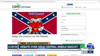 Weld County community divided over Confederate school mascot - Video