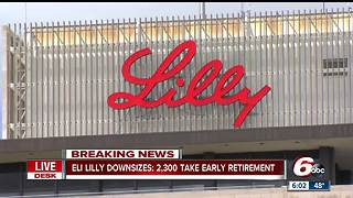 2,300 Eli Lilly employees accept buyout as company cuts 3,500 jobs - Video
