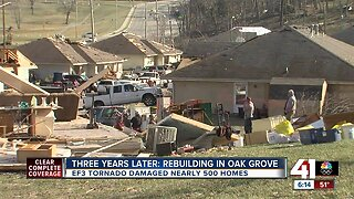 Oak Grove community still recovering 3 years after EF3 tornado