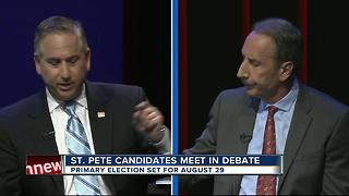 From raw sewage to Sarah Palin, St. Pete mayoral debate goes down a rabbit hole - Video