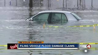 Filing vehicle flood damage claims - Video