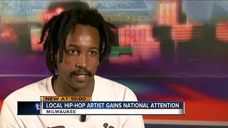 Local hip hop artist, WebsterX, getting national attention - Video