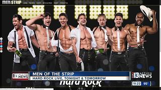 Jeff Timmons talks Men of the Strip show at Hard Rock Live - Video