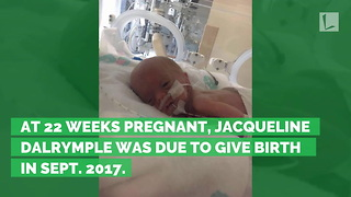 Preemie Born Weighing 1.9 lbs., Called 'Miracle' after 117 Days Fighting in Hospital - Video