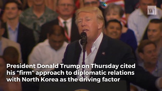 Trump: North Korea Would Have No Interest in Peace Talks Without Him - Video