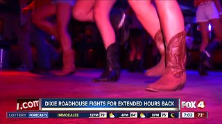 Dixie Roadhouse fights to get extended hours back