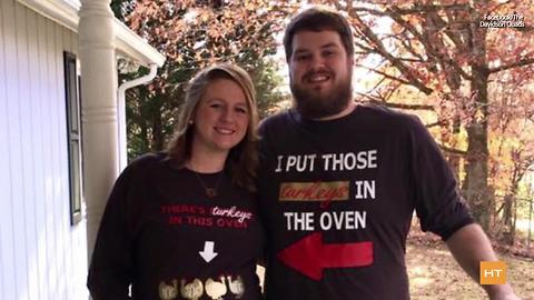 Mom goes to hospital for back pain, learns she's pregnant with quadruplets