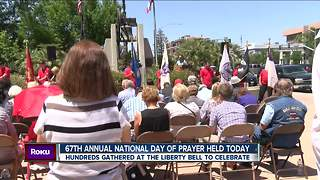 Community members celebrate National Day of Prayer - Video