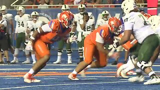 Boise State looks to finish off a perfect Mountain West Conference record