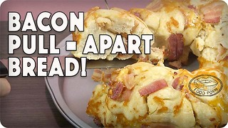 Cheesy pull-apart bread with bacon - Video