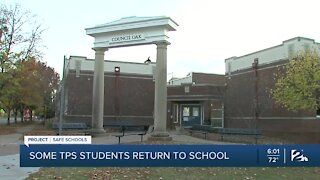 Some TPS students return to school