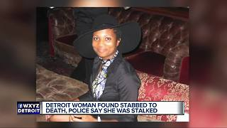 Detroit police believe ex-boyfriend stalked, murdered woman - Video