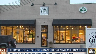 Ellicott City hosts grand re-opening on Small Business Saturday - Video