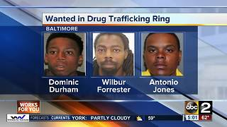 Alleged drug dealers arrested for trafficking in Baltimore - Video