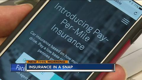 New insurance app allows customers to customize coverage plans