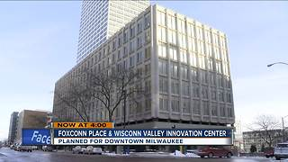 Foxconn announces it will buy downtown building for North American headquarters - Video