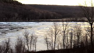 Ice Floes Create Potential for Jams, Flooding in Connecticut - Video