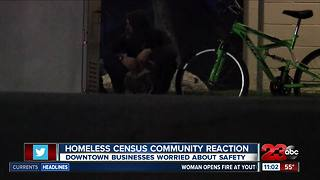 Homeless census community reaction - Video